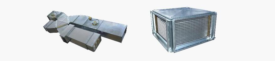 Алюминиевые пластинчатые рекуператоры